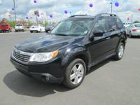 Options:  2010 Subaru Forester 2.5X Limited 4-Speed