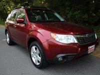 CARFAX One-Owner. Paprika Red Pearl 2010 Subaru