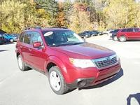 Take command of the road in the 2010 Subaru Forester!