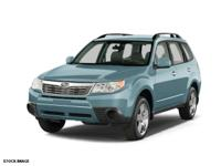 Don't miss out on this 2010 Subaru Forester PREMIUM! It