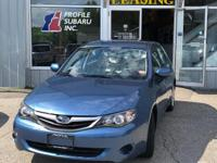 Take command of the road in the 2010 Subaru Impreza!