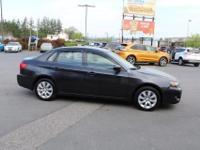2010 Subaru Impreza2.5i Black Black/Alcantara. AWD!