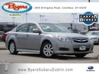 New Price! CARFAX One-Owner. Silver 2010 Subaru Legacy