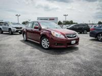 CARFAX One-Owner. Clean CARFAX. Ruby Red Pearl 2010