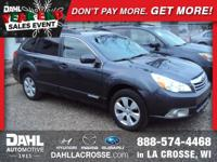 Recent Arrival! 2010 Subaru Outback 2.5i Limited Clean
