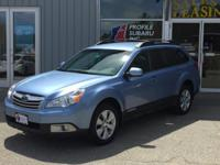Introducing the 2010 Subaru Outback! Very clean and