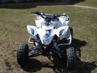Description This is for a 2006 suzuki 450 LTR quad