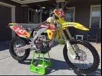 I am selling my 2010 Suzuki RMX450, it is extremely