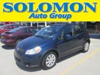 THIS 2010 SUZUKI SX4 FEATURES AWD, AUTOMATIC