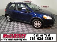 Colorado ready 2010 Suzuki SX4 Technology w/ Powerful