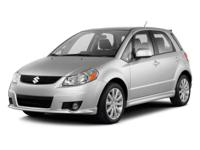 EPA 28 MPG Hwy/21 MPG City! LOW MILES - 71,955! SX4