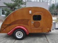 Custom developed retro style teardrop camper Our