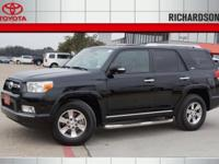 4Runner SR5 Leather & & Sunroof, Toyota Certified, and