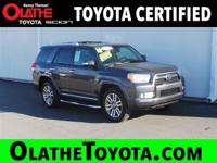 Options:  2010 Toyota 4Runner Limited 4X4 Nav|Gray/|V6