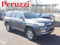 CARFAX One-Owner. Gray 2010 Toyota 4Runner SR5 4WD