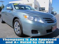 2010 Toyota Camry LE Sedan. ..... Powered By The