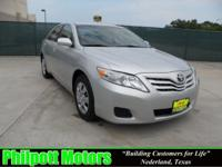 Options Included: N/A2010 Toyota Camry LE, silver with