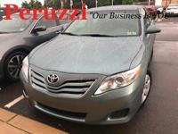 CARFAX One-Owner. Aloe Green 2010 Toyota Camry LE FWD