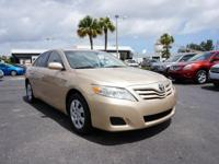 2010 Toyota Camry with Automatic Transmission, Power