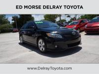 This outstanding example of a 2010 Toyota Camry SE is