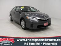 The 2010 Toyota Camry Hybrid is the rare hybrid that
