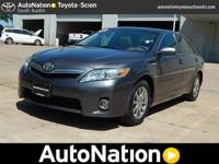This outstanding example of a 2010 Toyota Camry Hybrid