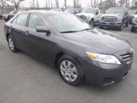 This Sharp, 2010 Toyota Camry LE with only 44,000 miles