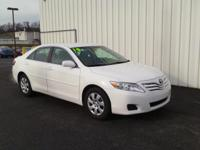 2010 Toyota Camry CARFAX One-Owner. Odometer is 48998