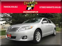 Options:  2010 Toyota Camry 4Dr Sdn I4 Auto Xle