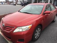 Barcelona Red Metallic 2010 Toyota Camry LE FWD 6-Speed