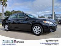 CARFAX One-Owner. Clean CARFAX. Black 2010 Toyota Camry