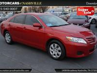 This 2010 Toyota Camry 4dr 4dr Sedan I4 Automatic LE