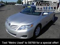 ONE OWNER Camry we sold new! This well equipped Toyota