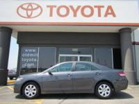 TOYOTA CERTIFIED CAMRY LE, JUST TRADED, BOUGHT NEW AND