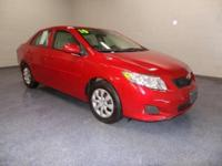 Snag a score on this 2010 Toyota Corolla S while we