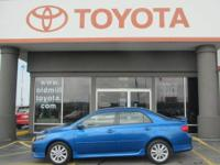 TOYOTA CERTIFIED COROLLA SPORT, ALLOY WHEELS, BOUGHT