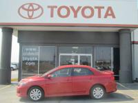 TOYOTA CERTIFIED COROLLA SPORT, ALLOY WHEELS, CLEAN