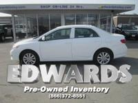 Our great CARFAX / ONE OWNER 2010 Corolla LE sedan