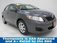 TOYOTA CERTIFIED!..........2010 Toyota Corolla LE