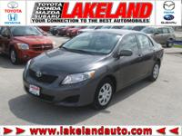 2010 TOYOTA COROLLA ABS brakes,AM/FM radio,Air