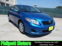 Options Included: N/A2010 Toyota Corolla LE Sedan, blue