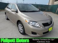 Options Included: N/A2010 Toyota Corolla, tan with tan