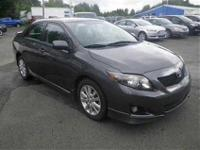 2010 Toyota Corolla S CARFAX: Buy Back Guarantee, Clear
