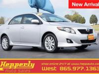 CARFAX One-Owner. This 2010 Toyota Corolla S in Classic
