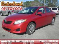 -New Arrival- This Radiant Red 2010 Toyota Corolla 4DR