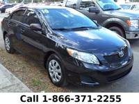 2010 Toyota Corolla LE Features: Keyless Entry - Tinted