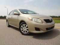 Extra clean Toyota Corolla LE with Auto Transmission,