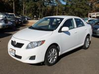 Options Included: N/A2010 Toyota Corolla Rainbow is a