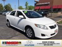 **HARD TO FIND** 2010 Toyota Corolla LE with only