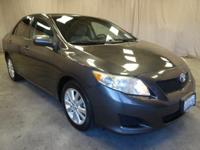 Come see this 2010 Toyota Corolla LE. Its Automatic